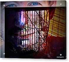 Challenge Enigmatic Imprison Himself Acrylic Print by Paulo Zerbato