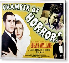 Chamber Of Horrors Aka Door With Seven Acrylic Print by Everett