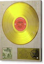 Chambers Brothers Gold Record Acrylic Print