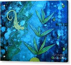 Chameleon  Acrylic Print by Ann Powell