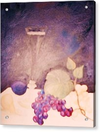 Champagne And Fruit Acrylic Print
