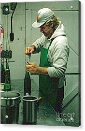 Champagne Methode Champenois Acrylic Print