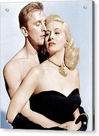 Champion, From Left Kirk Douglas Acrylic Print