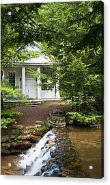 Chapel At Hickory Run State Park Acrylic Print