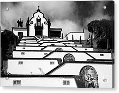 Chapel In Azores Acrylic Print by Gaspar Avila