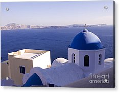Acrylic Print featuring the photograph Chapel by Leslie Leda
