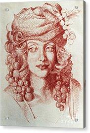 Chardonnay Acrylic Print