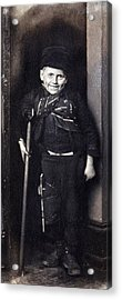 Charles Dickenss Character, Tiny Tim Acrylic Print by Everett