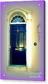 Charleston Door 6 Acrylic Print by Susanne Van Hulst