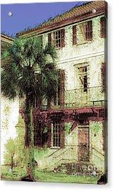 Charleston Homes Acrylic Print