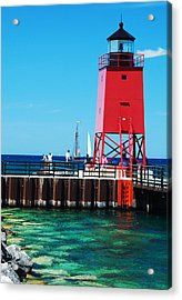 Acrylic Print featuring the photograph Charlevoix Light by Janice Adomeit
