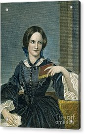 Charlotte Bronte Acrylic Print by Granger
