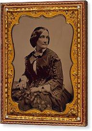 Charlotte Cushman 1816-1876, One Acrylic Print by Everett