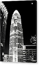 Charlotte North Carolina Bank Of America Building Acrylic Print by Kim Fearheiley