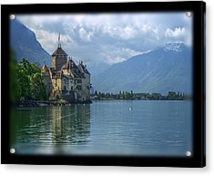 Chateau De Chillon Acrylic Print by Matthew Green