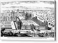 Chateau De Vincennes Acrylic Print by Granger