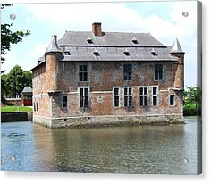 Acrylic Print featuring the photograph Chateau Feodal De Fernelmont Belgium by Joseph Hendrix