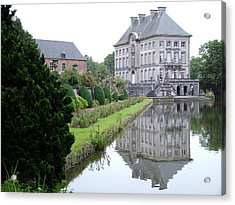 Acrylic Print featuring the photograph Chateau Fort De Feluy  Belgium by Joseph Hendrix