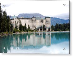 Chateau Lake Louise Acrylic Print