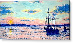 Chatham Acrylic Print by Ben Leary