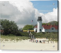 Chatham One Acrylic Print by David Klaboe