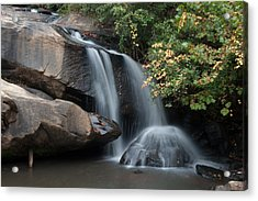 Acrylic Print featuring the photograph Chau-ram Falls by Lynne Jenkins