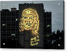 Acrylic Print featuring the photograph Che Guevera II by Gary Dean Mercer Clark