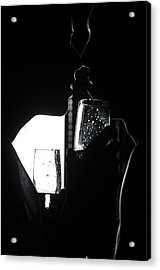 Cheers Before The Kiss Acrylic Print by Jenny Rainbow