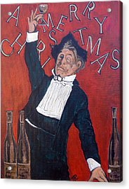 Cheers Acrylic Print by Tom Roderick