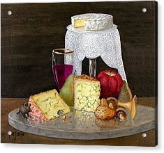 Cheese Delight Acrylic Print