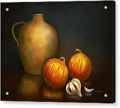 Chef's Blend Acrylic Print by Sena Wilson