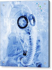 Chemical Warfare Acrylic Print by Mehau Kulyk