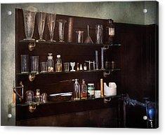 Chemist - The Scientist  Acrylic Print by Mike Savad