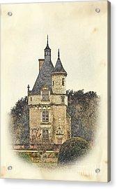Chennonceau Castle Acrylic Print by Paul Topp