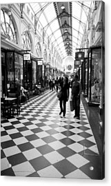 Chequered Acrylic Print by Lee Stickels