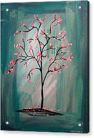 Cherry Blossom Acrylic Print by Lynsie Petig