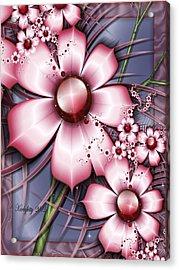 Cherry Candy Acrylic Print