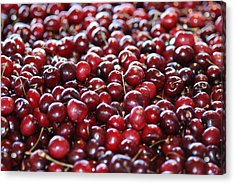 Cherry Acrylic Print by Francois Cartier