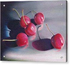 Cherry Talk Acrylic Print