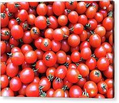 Cherry Tomatoes Acrylic Print by Junku