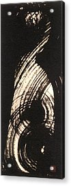 Cheshire Or Maiden With Long Hair Acrylic Print by Chisho Maas