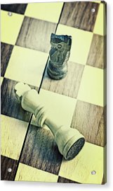 Chess Acrylic Print by Joana Kruse