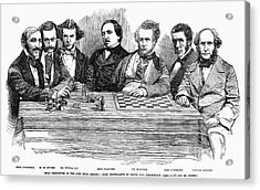 Chess Players, 1855 Acrylic Print by Granger