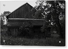 Chet's Barn Acrylic Print by Anna Villarreal Garbis