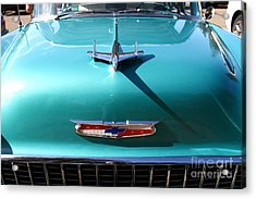 Chevrolet Bel-air . Blue . 7d12850 Acrylic Print by Wingsdomain Art and Photography