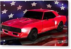 Chevy Camaro Intimidator Acrylic Print