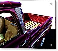 Chevy Custom Truckbed Acrylic Print