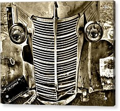 Chevy Grill Work Acrylic Print
