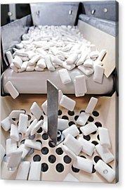 Chewing Gum Production Line Acrylic Print by Ria Novosti
