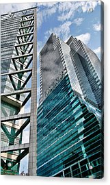 Chicago - A Sophisticated Finance Hub Acrylic Print